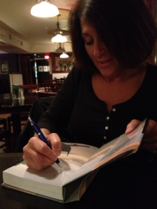 Law Amy book signing